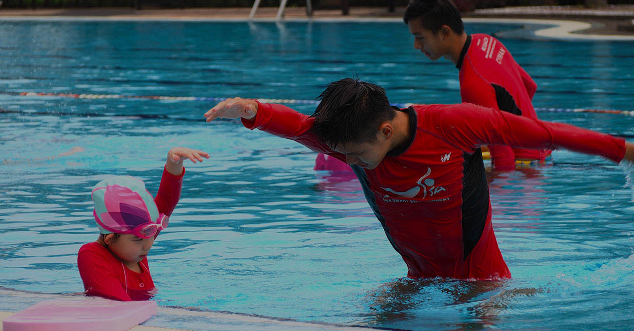 swimming lesson pj