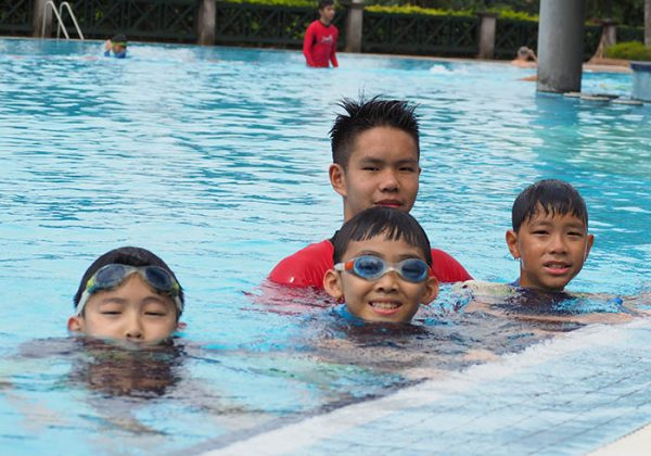 Kids Swimming Lesson